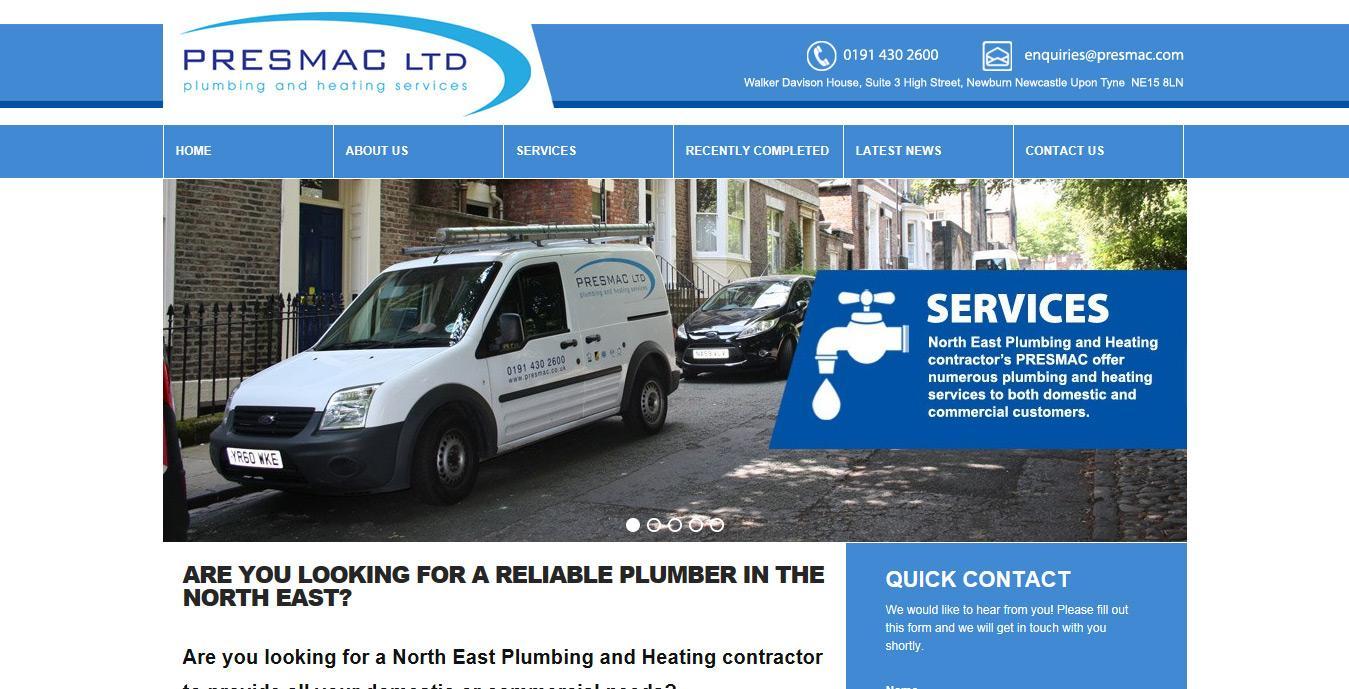 PRESMAC Plumbing and Heating