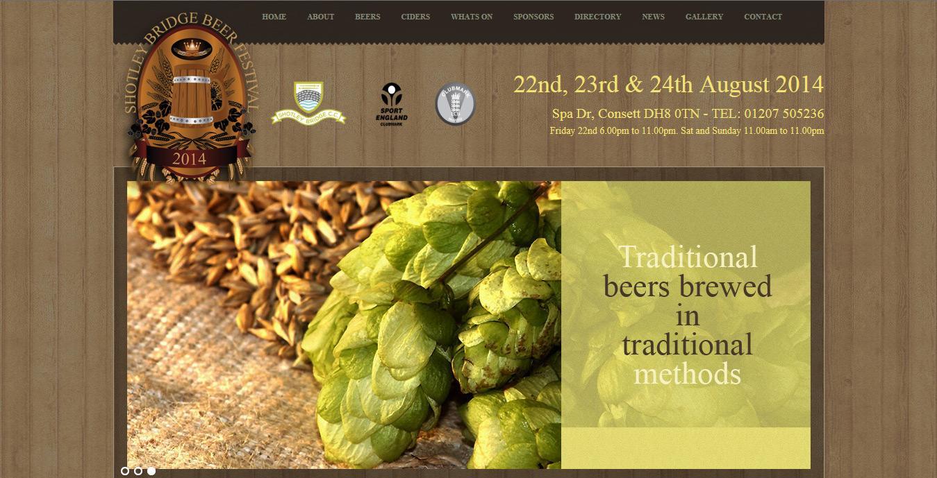 Shotleyy Bridge Beer Festival