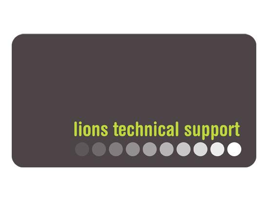 Lions Technical Support